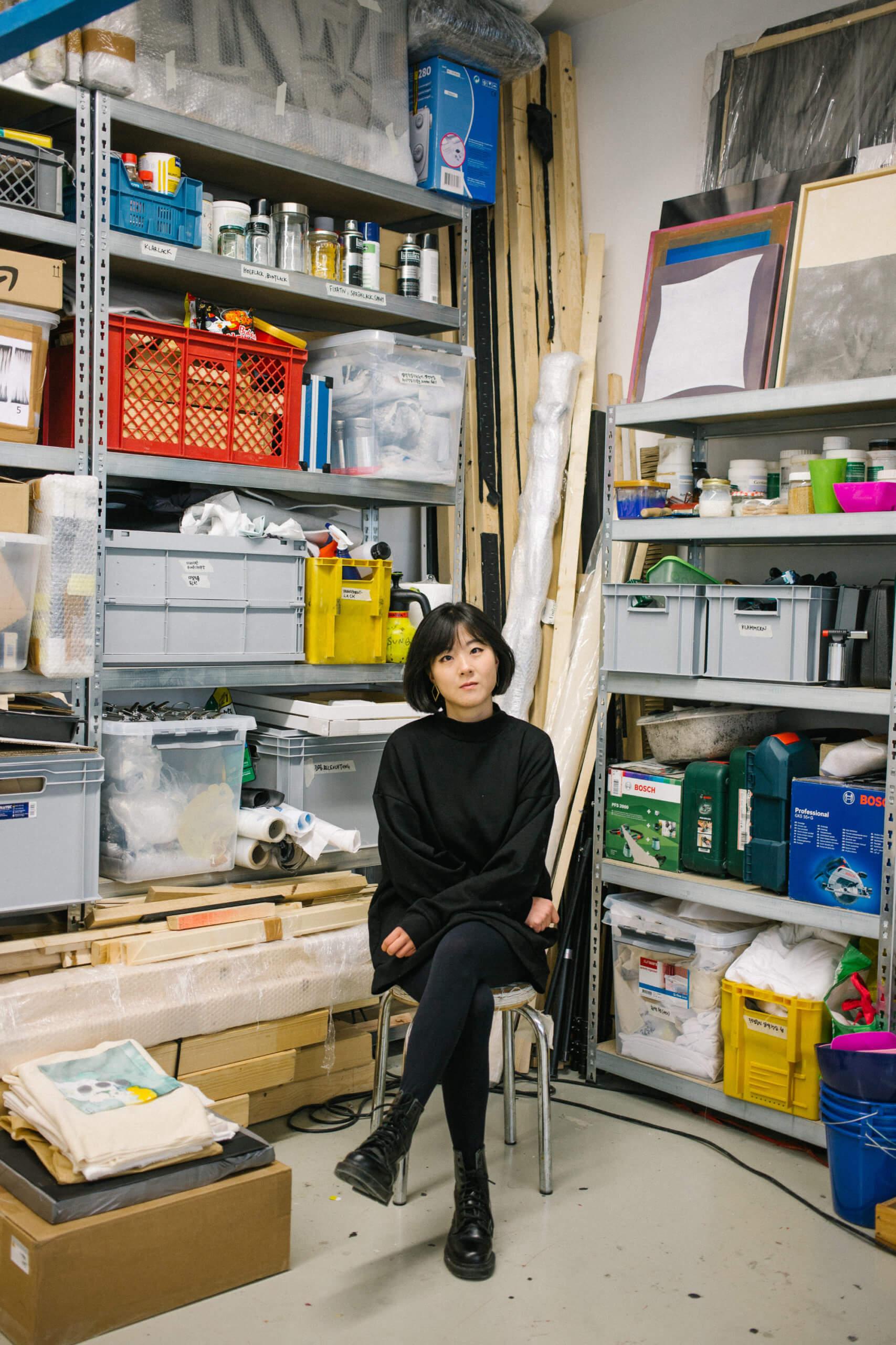 Die Künstlerin Hyun Sung Park